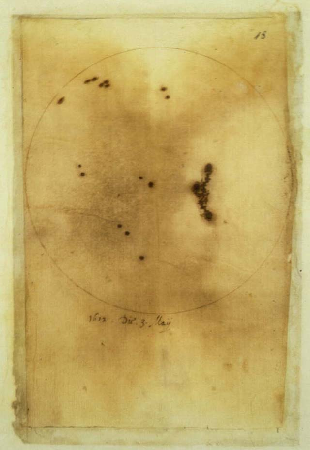 Galileo's sunspots