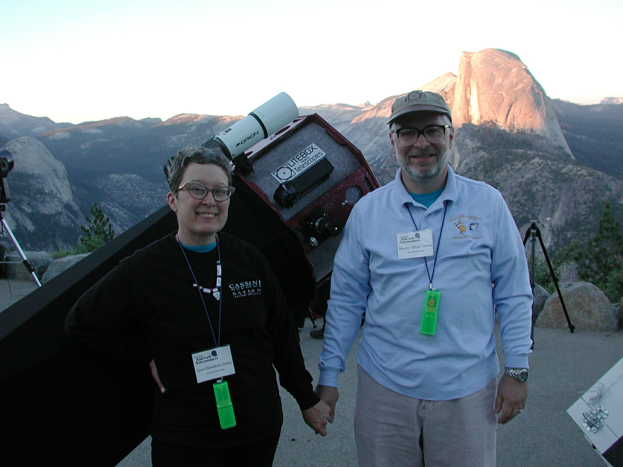Public star party at Glacier Point, Yosemite National Park