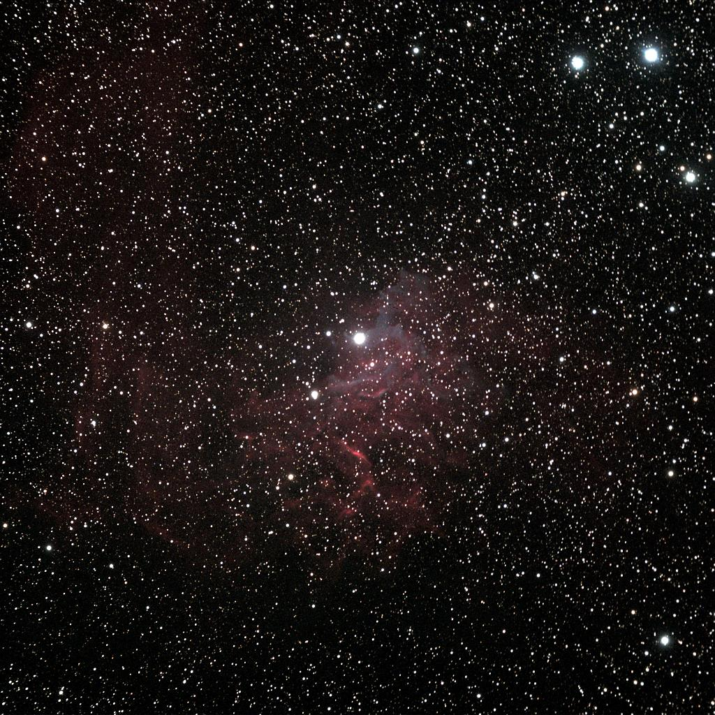 IC 405 and AE Aurigae